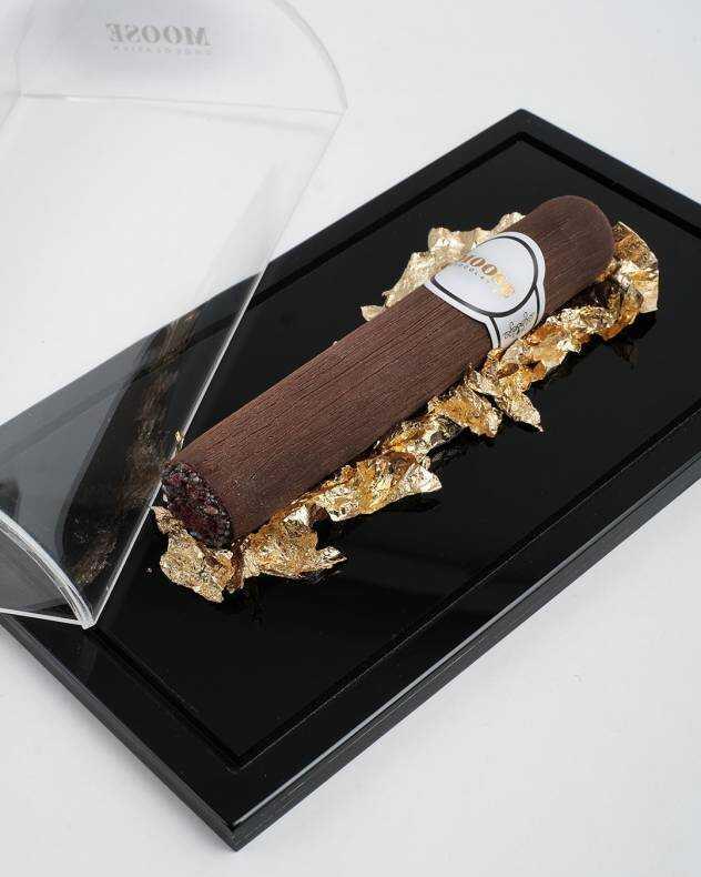 Altın Yapraklı Puro Çikolata
