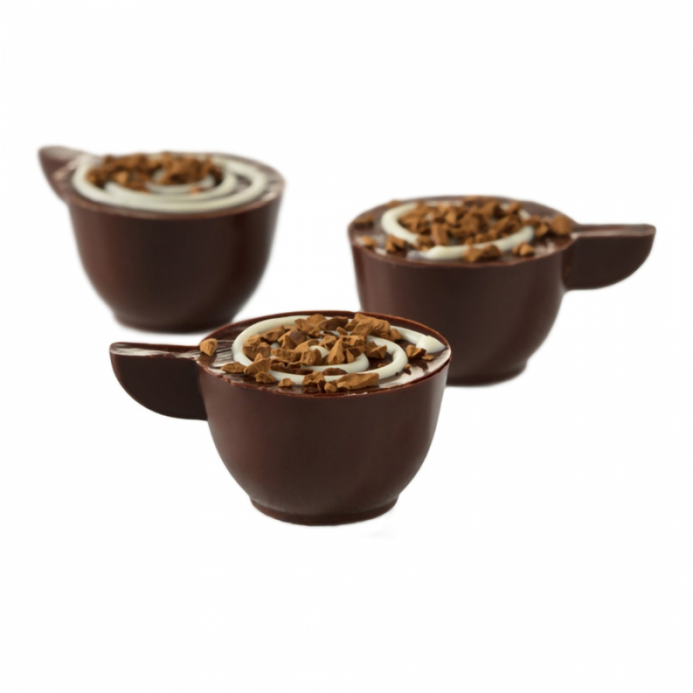 Cappuccino Ganajlı Kalıp Çikolata