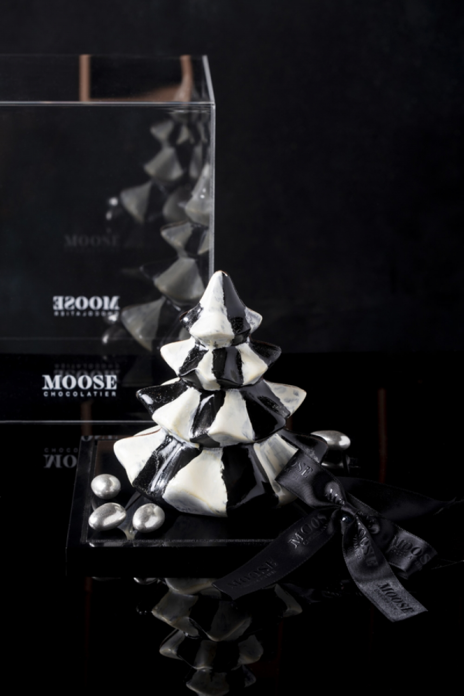 Siyah Beyaz Çikolata Tasarım Ağaç