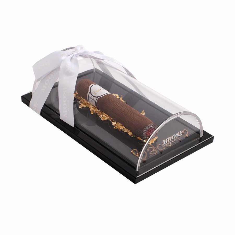 Babalar Günü Özel Altın Yapraklı Puro Çikolata