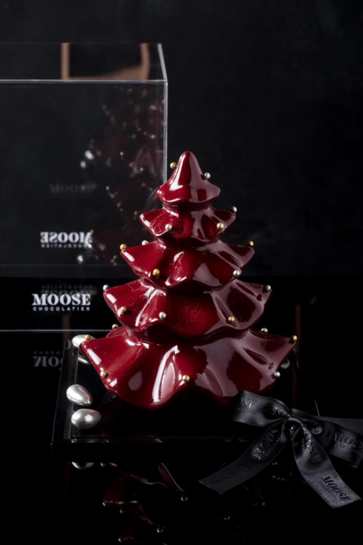 Kırmızı Yılbaşı Ağacı Çikolata