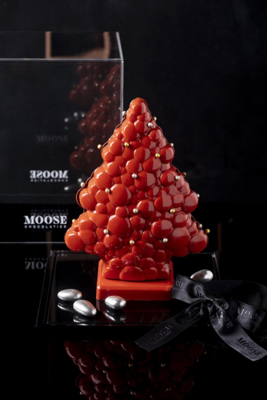Turuncu Yılbaşı Ağacı Çikolata