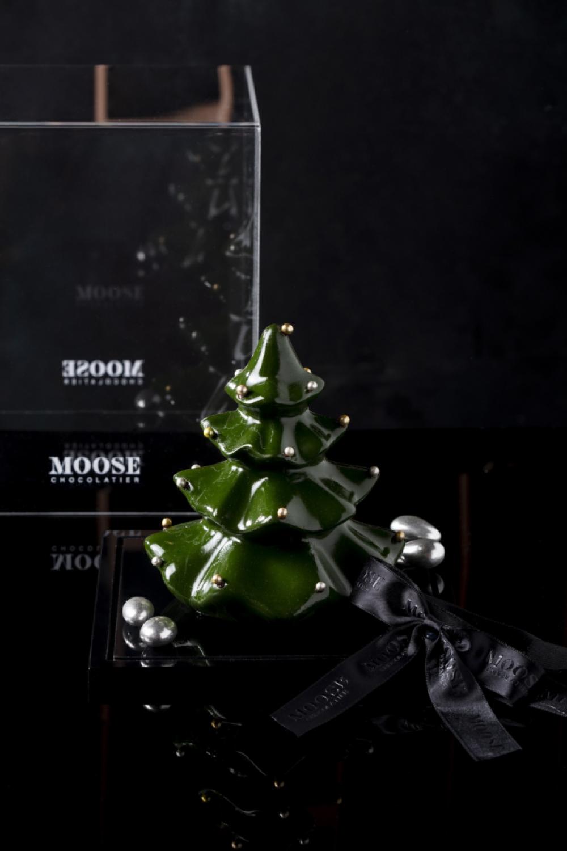 Yeşil Yılbaşı Ağacı Çikolata